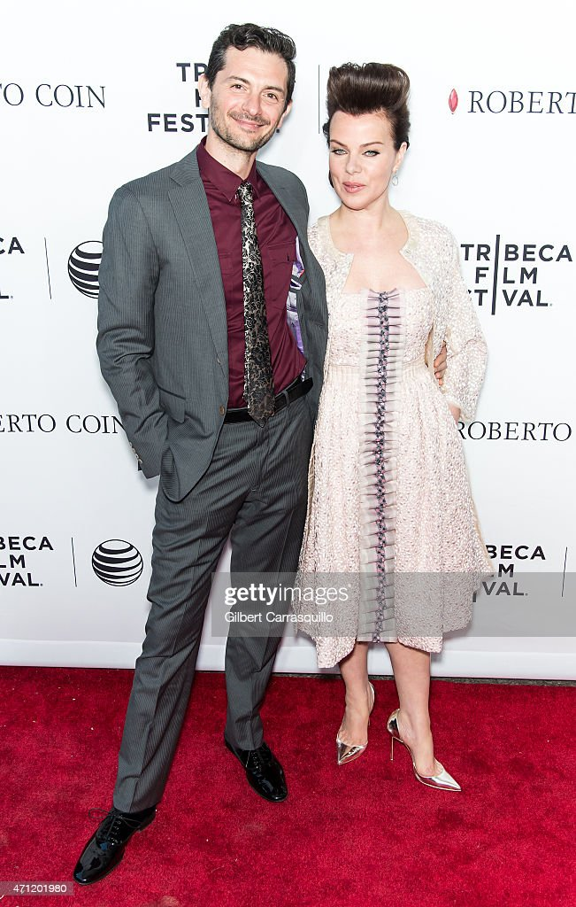 Musician Gabriele Corcos (L) and actress Debi Mazar attend the closing night screening of 'Goodfellas' during the 2015 Tribeca Film Festival at Beacon Theatre on April 25, 2015 in New York City.