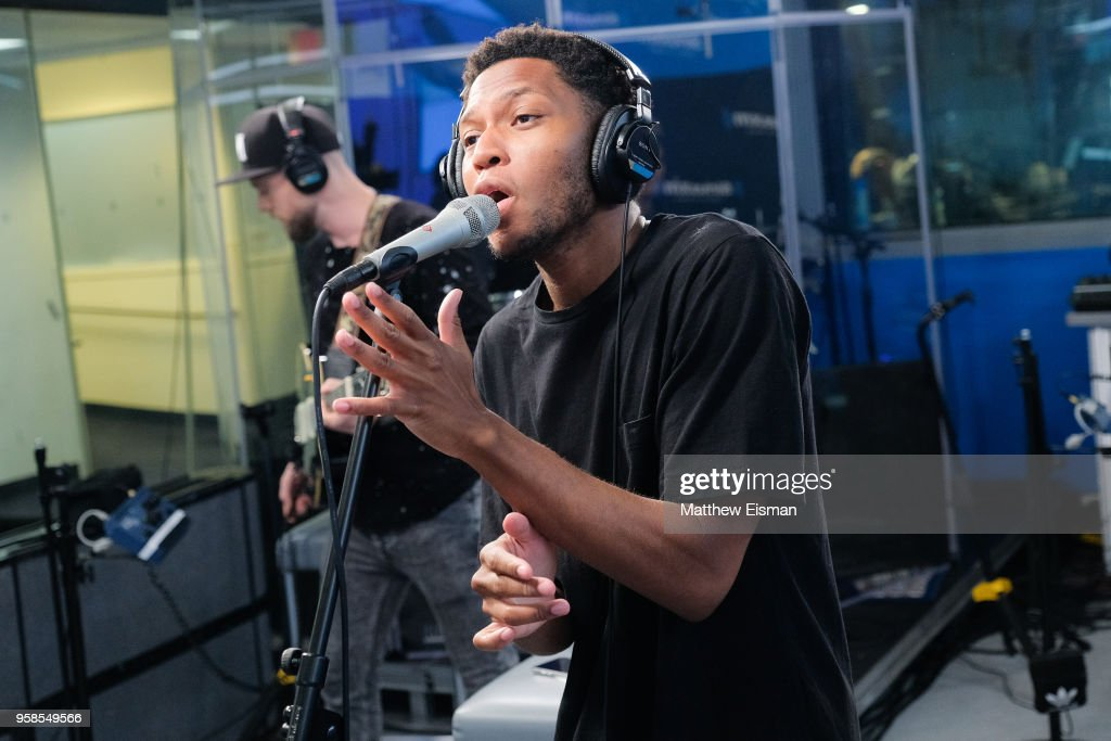 Musician Gallant performs live at SiriusXM Studios on May 14, 2018 in New York City.