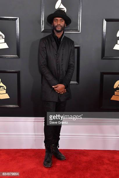 Musician Gary Clark Jr attends The 59th GRAMMY Awards at STAPLES Center on February 12 2017 in Los Angeles California