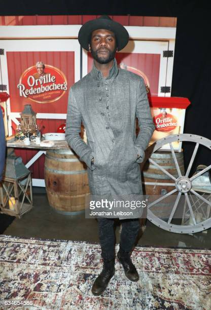 Musician Gary Clark Jr attends the gift lounge at MusiCares Person of the Year honoring Tom Petty during the 59th GRAMMY Awards at Los Angeles...