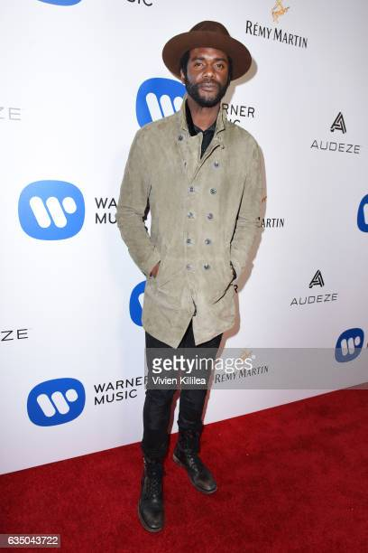 Musician Gary Clark Jr attends the Warner Music Group GRAMMY Party at Milk Studios on February 12 2017 in Hollywood California