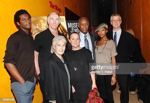 Musician Gary Clark Jr., filmmaker John Sayles, producer Maggie Renzi, actor Danny Glover, actress Yaya DaCosta and David Schwartz attend a...