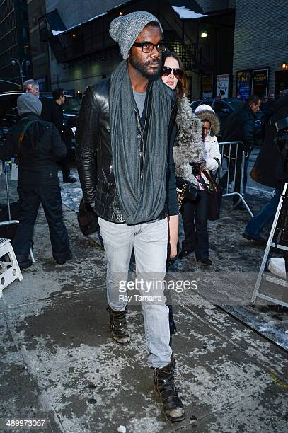 Musician Gary Clark Jr leaves the 'Late Show With David Letterman' taping at the Ed Sullivan Theater on February 17 2014 in New York City