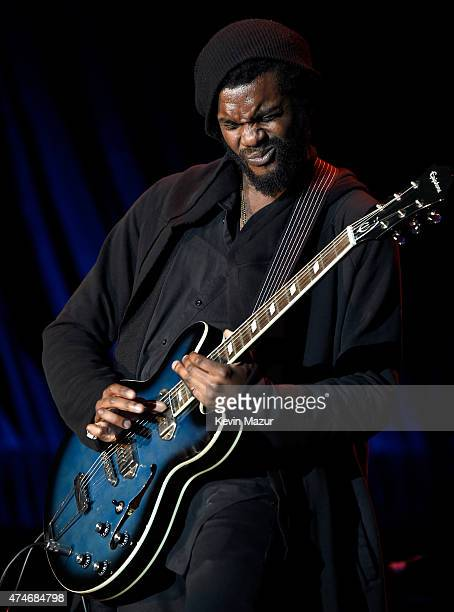 Musician Gary Clark Jr performs onstage prior to The Rolling Stones during the kick off of The Rolling Stones 15city North American stadium ZIP CODE...