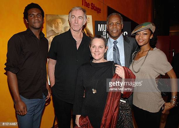 Musician Gary Clark Jr., Writer\Director John Sayles, Producer Maggie Renzi, Actor Danny Glover and Actress Yaya DaCosta attend The Museum of The...