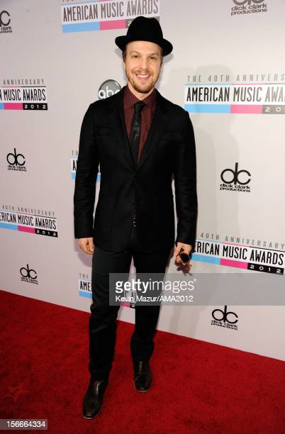 Musician Gavin DeGraw attends the 40th American Music Awards held at Nokia Theatre L.A. Live on November 18, 2012 in Los Angeles, California.