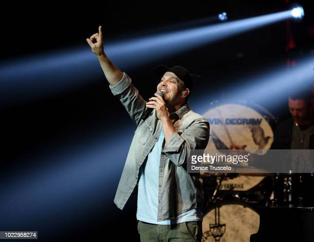 Musician Gavin DeGraw performs at The Pearl at Palms Casino Resort on August 24 2018 in Las Vegas Nevada