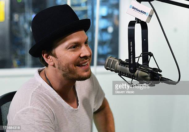 Musician Gavin DeGraw visits OutQ at SiriusXM Studios on June 27 2013 in New York City