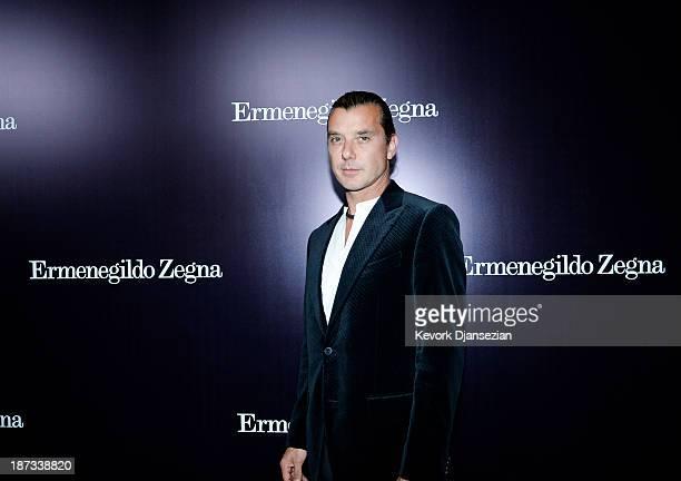 Musician Gavin Rossdale arrives for the Ermenegildo Zegna Global Store Opening hosted by Gildo Zegna and Stefano Pilati at Ermenegildo Zegna Boutique...