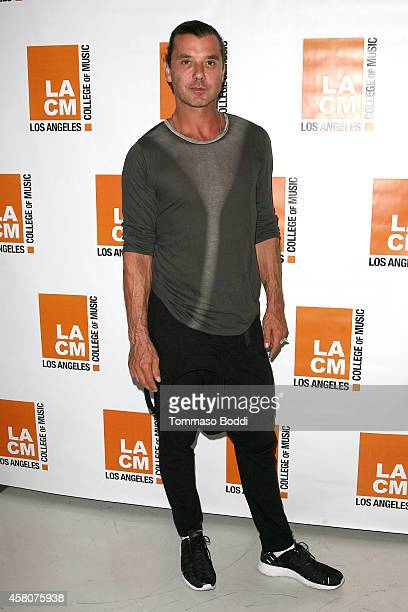 Musician Gavin Rossdale attends the Los Angeles college of music hosts an evening With Gavin Rossdale held at the Los Angeles College of Music on...