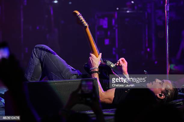Musician Gavin Rossdale of BUSH performs at The Wiltern on January 31 2015 in Los Angeles California