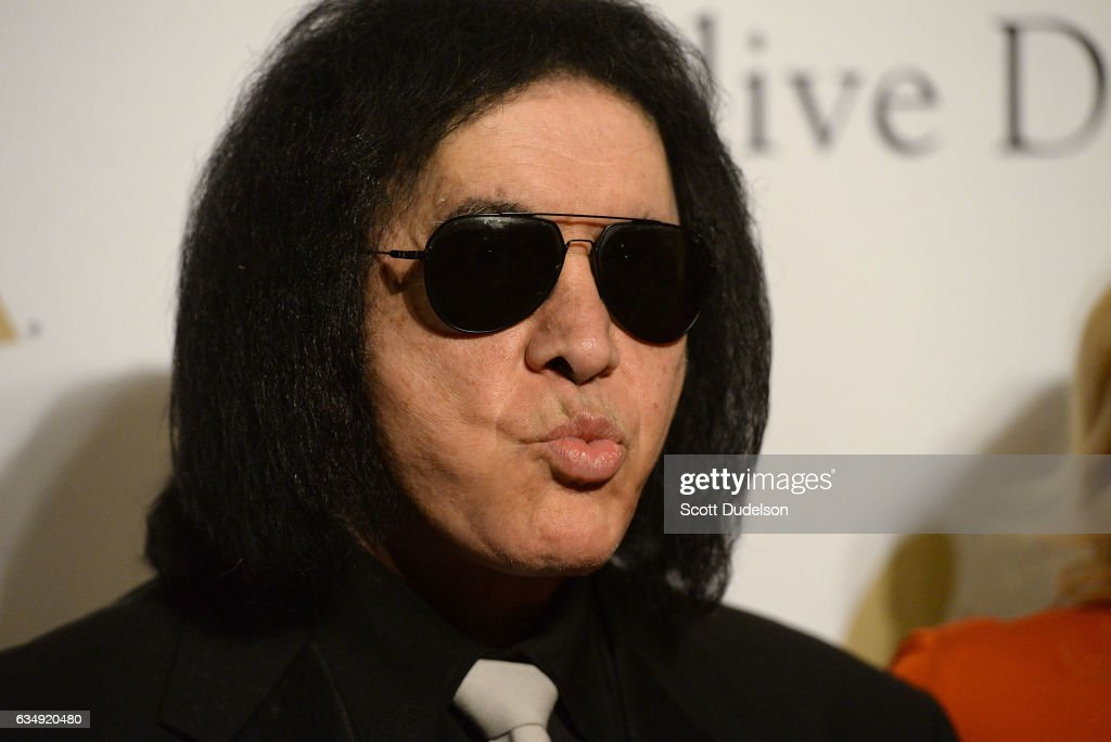 Musician Gene Simmons of the band KISS attends the 2017 Pre-GRAMMY Gala And Salute to Industry Icons Honoring Debra Lee at The Beverly Hilton Hotel on February 11, 2017 in Beverly Hills, California.