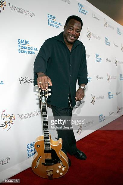 Musician George Benson arrives to The Thelonious Monk Institute of Jazz and The Recording Academy Los Angeles chapter honoring Herbie Hancock all...