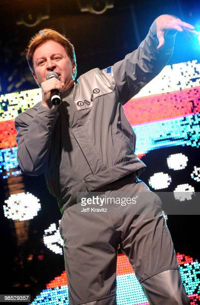 Musician Gerald Casale of Devo performs during Day 2 of the Coachella Valley Music Art Festival 2010 held at the Empire Polo Club on April 17 2010 in...