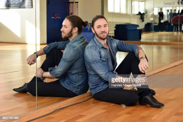 Musician Gil Ofarim poses at a photo call for the tenth season of the television competition 'Let's Dance' on March 13 2017 in Munich Germany From...