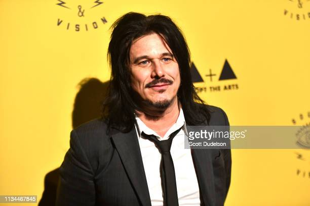 Musician Gilby Clarke former member of Guns N' Roses attend the 7th Annual Adopt the Arts Benefit Gala at The Wiltern on March 07 2019 in Los Angeles...