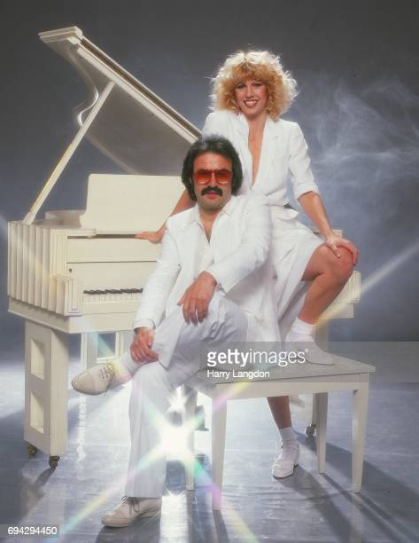 Musician Giorgio Moroder poses for a portrait in 1981 in Los Angeles California