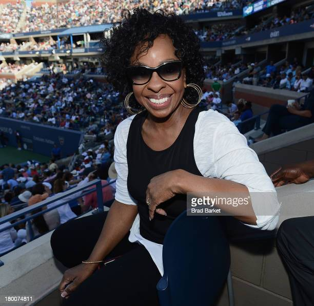Musician Gladys Knight attends the The Moet Chandon Suite at USTA Billie Jean King National Tennis Center on September 8 2013 in New York City