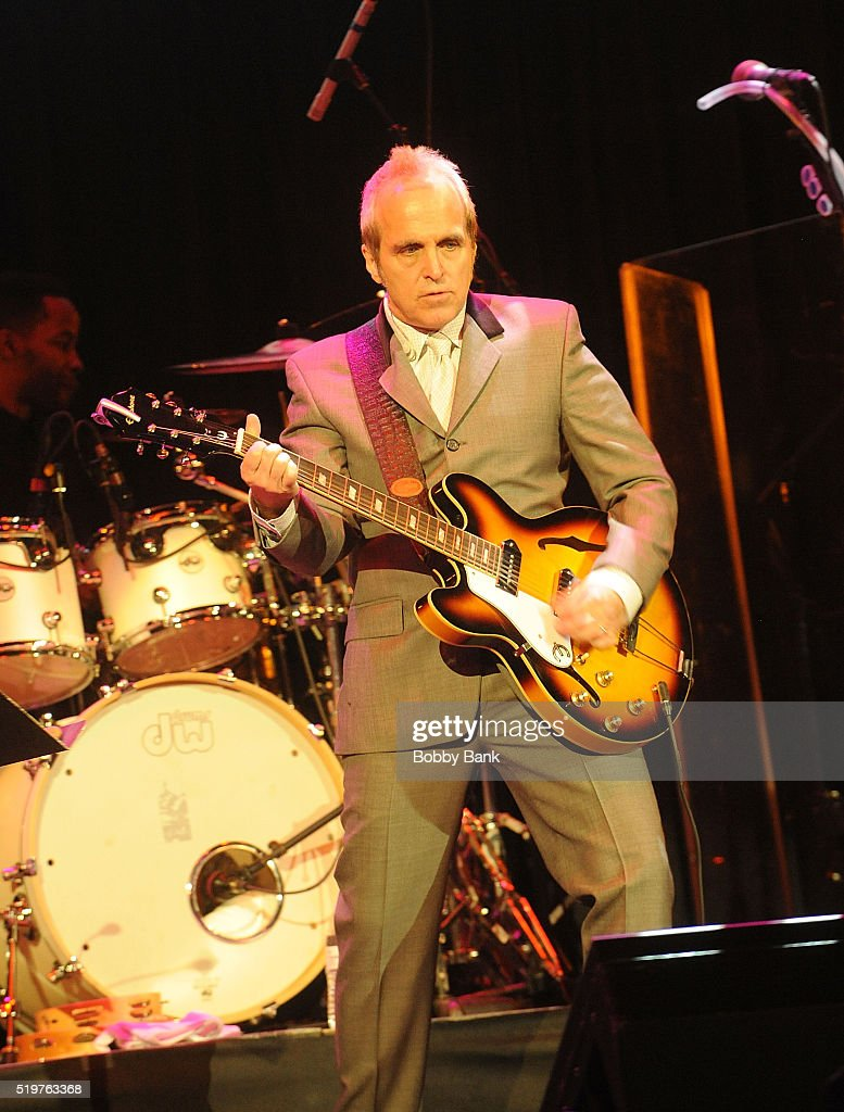 Musician Glen Burtnik attends the 2016 New Jersey Hall Of Fame Induction Ceremony at Asbury Park Convention Center on April 7, 2016 in Asbury Park, New Jersey.