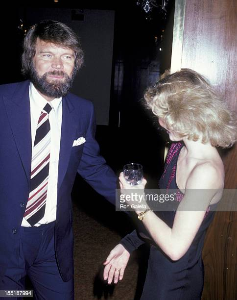 Musician Glen Campbell and Tanya Tucker attend 25th Anniversary Party for Johnny Mathis on January 9 1981 at the Beverly Hilton Hotel in Beverly...