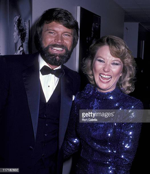 Musician Glen Campbell and Tanya Tucker attend 30th Anniversary Party for Bob Hope on September 11 1981 at NBC TV Studios in Burbank California