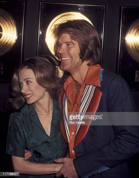 Musician Glen Campbell attends Capitol Records Party for Glen Campbell on February 7 1977 at Capitol Records in Los Angeles California