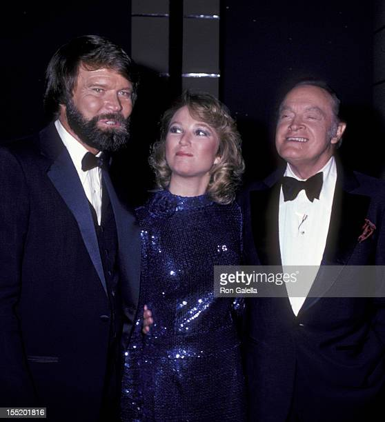 Musician Glen Campbell Tanya Tucker and Bob Hope attend 30th Anniversary Party for Bob Hope on September 11 1981 at NBC TV Studios in Burbank...