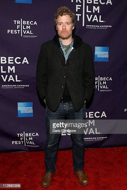 Musician Glen Hansard attends the premiere of The Swell Season during the 2011 Tribeca Film Festival at AMC Loews Village 7 on April 22 2011 in New...