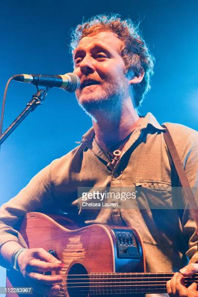 Musician Glen Hansard of The Swell Season performs at day 2 of the 2011 Coachella Valley Music Arts Festival at The Empire Polo Club on April 16 2011...