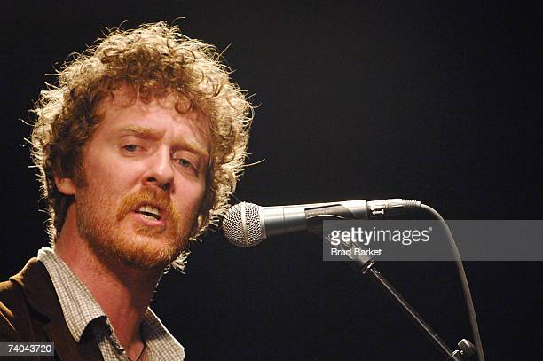 Musician Glen Hansard onstage at the ASCAP Tribeca Music Lounge held at the Canal Room during the 2007 Tribeca Film Festival on May 1, 2007 in New...