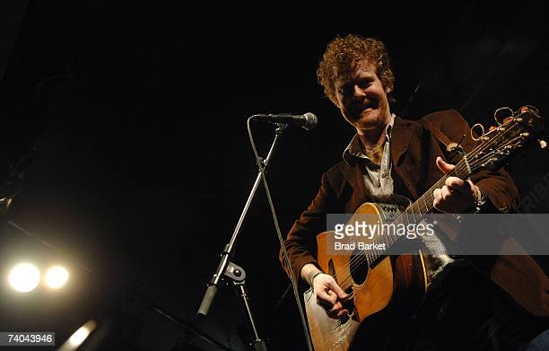 Musician Glen Hansard performs onstage at the ASCAP Tribeca Music Lounge held at the Canal Room during the 2007 Tribeca Film Festival on May 1 2007...