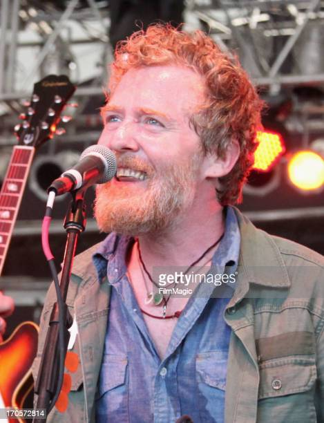Musician Glen Hansard performs onstage at This Tent during day 2 of the 2013 Bonnaroo Music Arts Festival on June 14 2013 in Manchester Tennessee