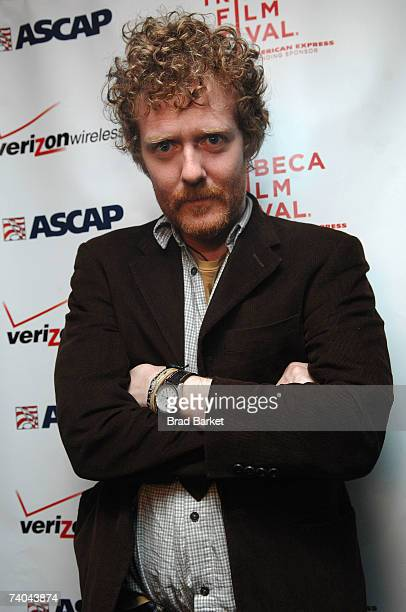 Musician Glen Hansard poses at the ASCAP Tribeca Music Lounge held at the Canal Room during the 2007 Tribeca Film Festival on May 1, 2007 in New York...