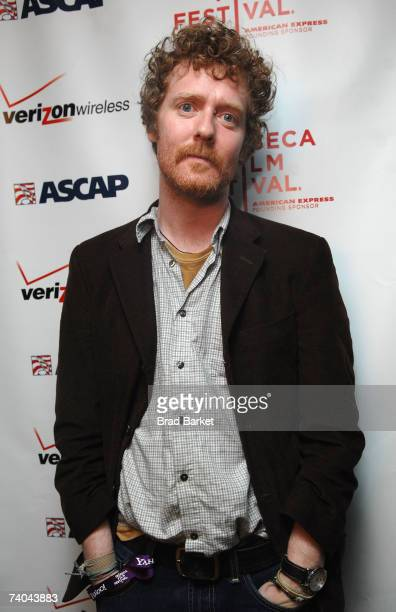 Musician Glen Hansard poses at the ASCAP Tribeca Music Lounge held at the Canal Room during the 2007 Tribeca Film Festival on May 1 2007 in New York...
