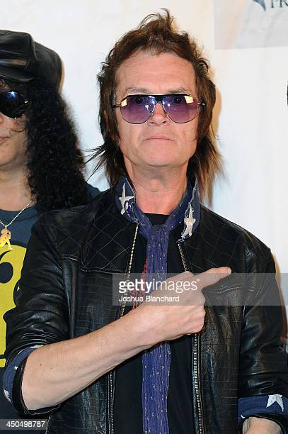 Musician Glenn Hughes arrives at the Avalon for Kings of Chaos Tokyo Celebrates The Dolphin Benefit Concert on November 18, 2013 in Hollywood,...