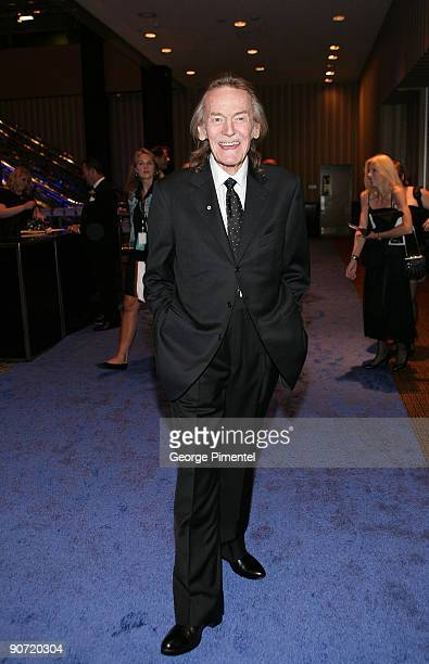 Musician Gordon Lightfoot attends the 2009 RBC Inductee Charity Ball at the Sheraton Centre Toronto Hotel on September 12 2009 in Toronto Canada