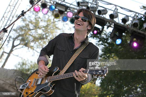 Musician Gordy Quist performs with Band Of Heathens during day 1 of the Austin City Limits Music Festival at Zilker Park on October 8, 2010 in...