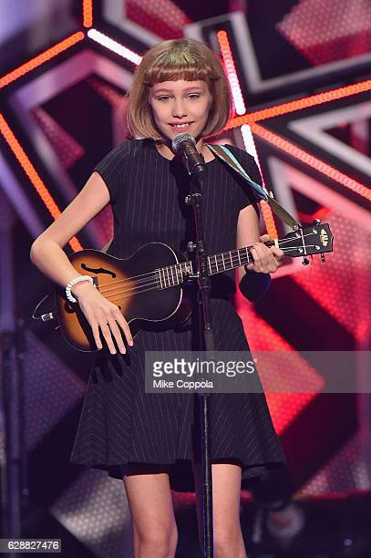 Musician Grace VanderWaal performs onstage during Z100's Jingle Ball 2016 at Madison Square Garden on December 9, 2016 in New York, New York.