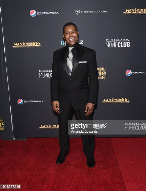 Musician Gralin Jerald arrives at the 26th Annual Movieguide Awards - Faith And Family Gala at the Universal Hilton Hotel on February 2, 2018 in...