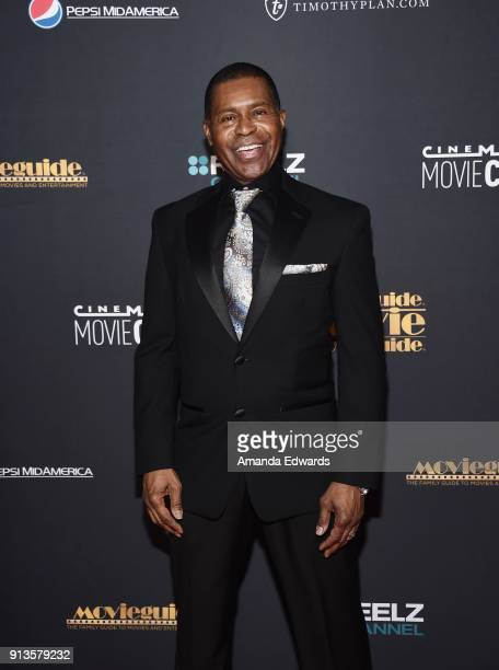 Musician Gralin Jerald arrives at the 26th Annual Movieguide Awards Faith And Family Gala at the Universal Hilton Hotel on February 2 2018 in...