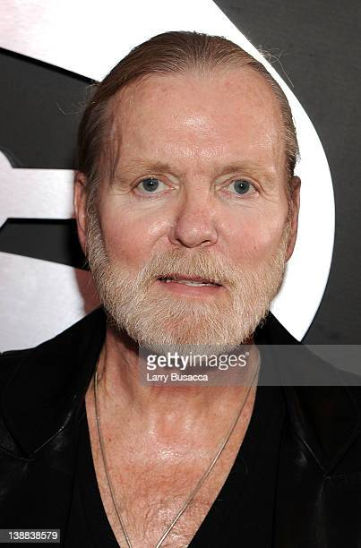 Musician Gregg Allman of the Allman Brothers arrives at the 54th Annual GRAMMY Awards held at Staples Center on February 12 2012 in Los Angeles...