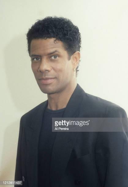 Musician Gregory Abbott appears in a portrait taken in New York City on June 1, 1988.