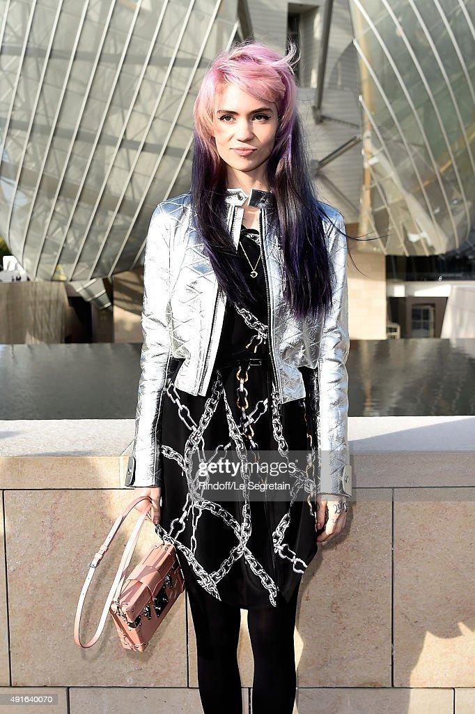 Louis Vuitton : Arrivals - Paris Fashion Week Womenswear Spring/Summer 2016 : News Photo