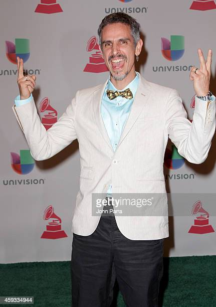 Musician Guillermo Bonetto of Los Cafres attends the 15th annual Latin GRAMMY Awards at the MGM Grand Garden Arena on November 20 2014 in Las Vegas...