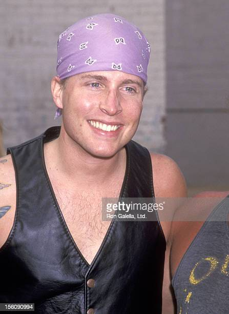 Musician Gunnar Nelson attends the Love Ride 10 10th Annual Motocycle Rider's Fundraiser for the Muscular Dystrophy Association on November 7 1993 at...