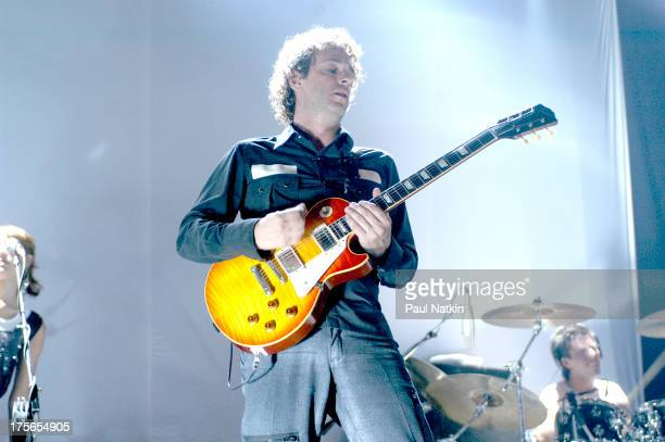 Musician Gustavo Cerati performs onstage Chicago Illinois July 29 2003