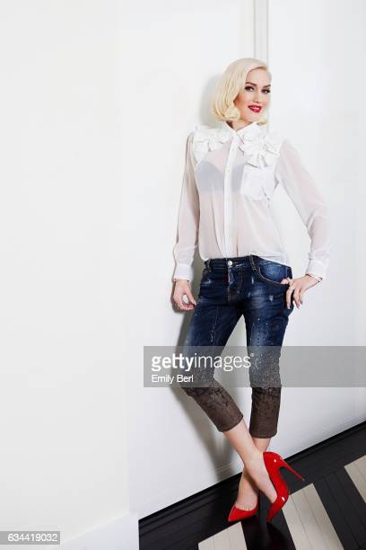 Musician Gwen Stefani is photographed for New York Times on March 3 2016 in Los Angeles California