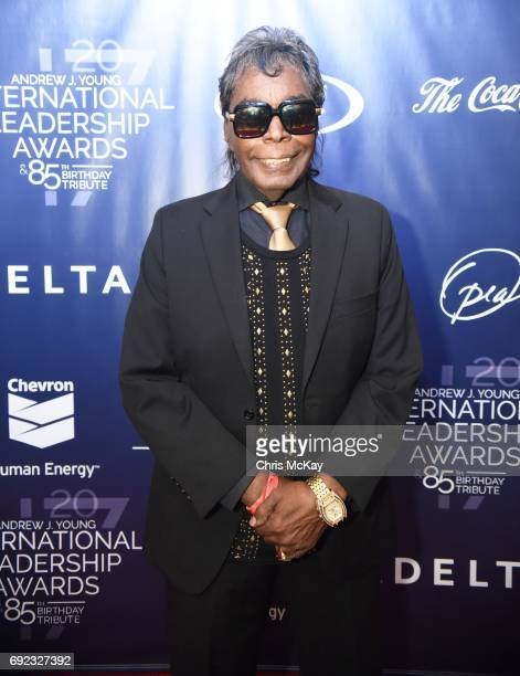 Musician Hamilton Bohannon walks the red carpet at The 2017 Andrew Young International Leadership Awards and 85th Birthday Tribute at Philips Arena...