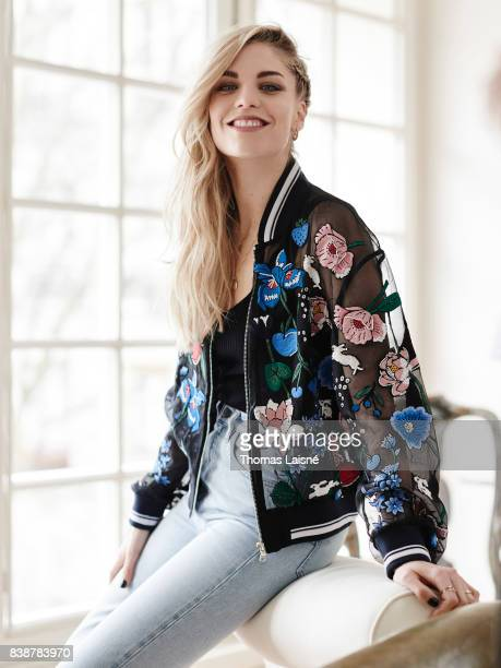 Musician Hannah Reid of London Grammar is photographed on March 10 2017 in Paris France