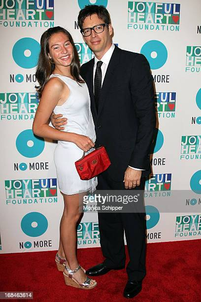 Musician Harry Connick Jr and daughter attend the 2013 Joyful Heart Foundation gala at Cipriani 42nd Street on May 9 2013 in New York City
